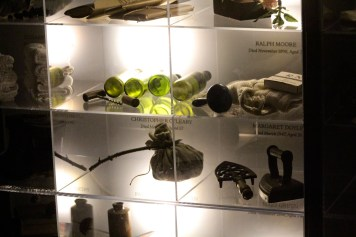 Artifacts of the lives of ordinary Dublin citizens buried at Glasnevin Cemetery are housed in the museum.