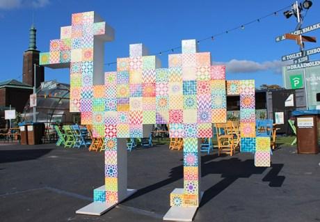 Pixel Camel at Djemaa El Fna