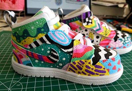 Custom Nike Air Jordans