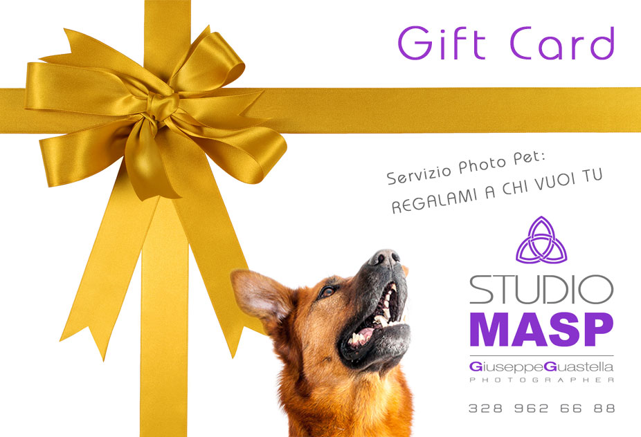Gift Card Pet Photography