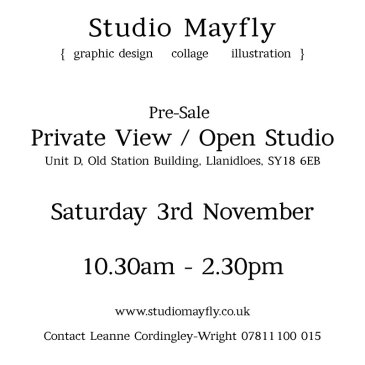Open Studio / Private View