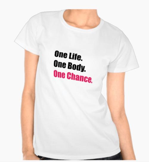 One Chance tee