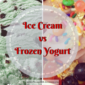 Ice Cream vs Frozen Yogurt