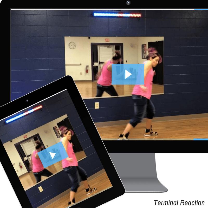 Terminal Reaction - line dance
