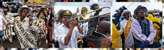 Second Line Tryptich