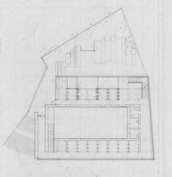 Uphams Corner Library - Level 1 / Courtyard