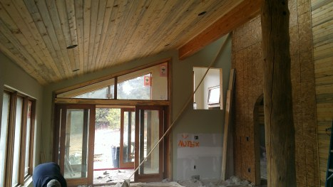 Living and Sunroom Doors with BKP trim