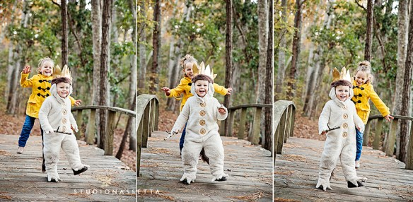 max_2nd_birthday_dancing_on_bridge_nags-head-woods-nc
