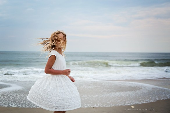 outer banks nc free people girl twirling by the water