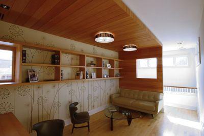 Lincoln Park Residence reading room