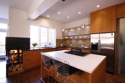 Sacramento House kitchen
