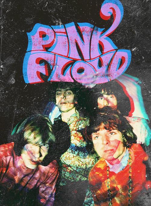 Pink Floyd portrait psychédélique