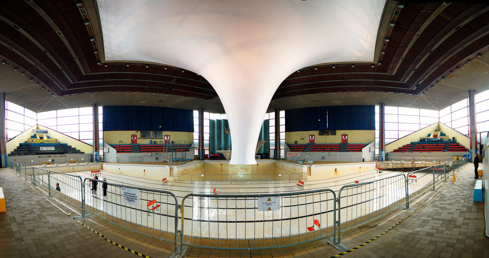 The Accumulator at Leeds International Pool