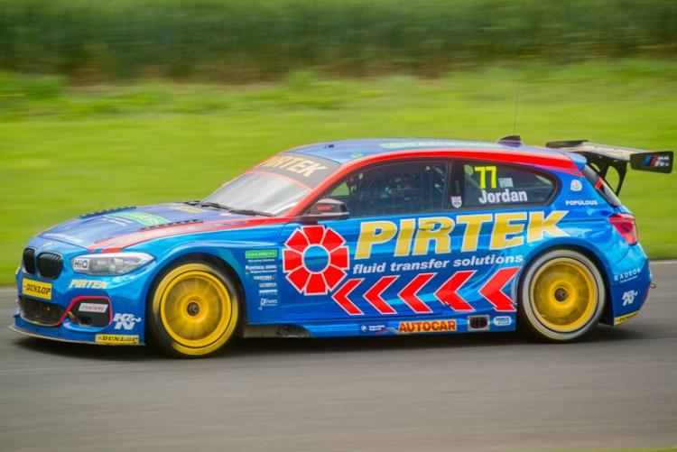77 Andrew Jordan BMW Pirtek Racing BTCC Croft 2017
