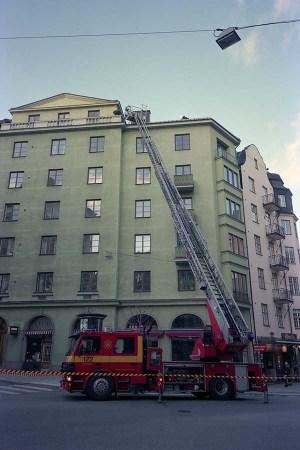 Fire engine / Stockholm 2003