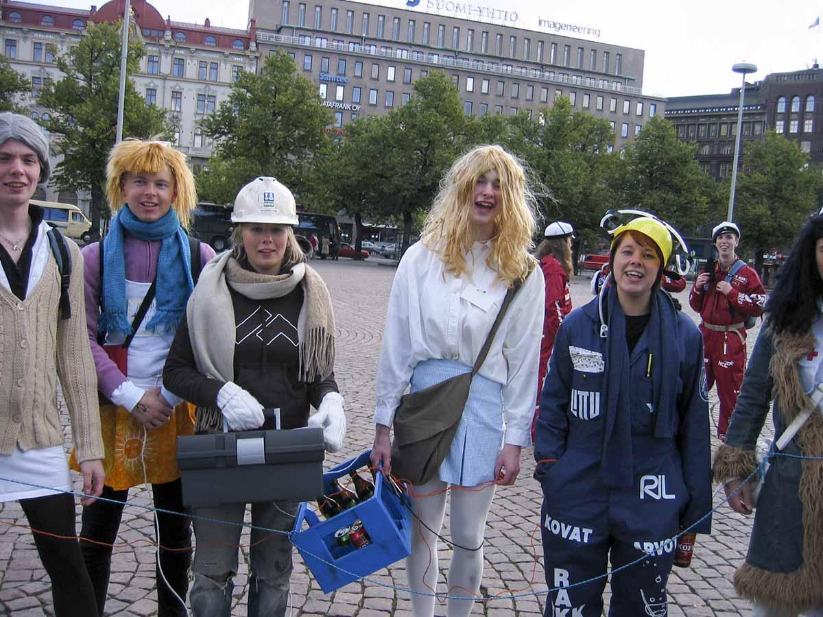 Rautatientori Helsinki, Syyskuu 2005
