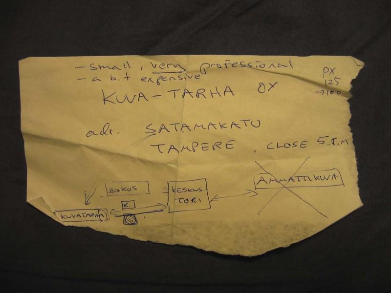 KUVA-TARHA OY, Tampere Finland 2004
