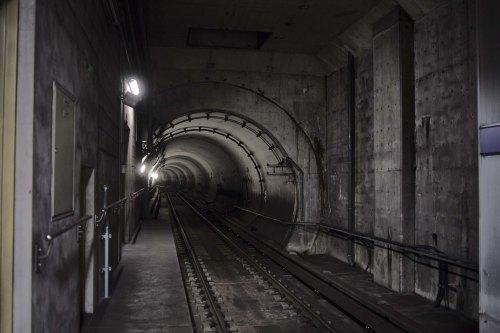 Subway tunnel, Nagoya 2020
