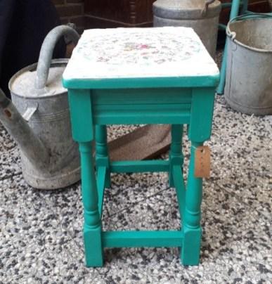 tafel groen zijkant