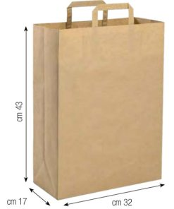 Shopper in carta 32x43 naturale