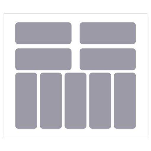 Etichette rettangolari 90x35