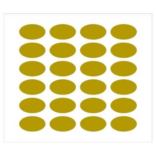 Etichette ovali per bomboniere 41x24