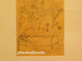 A Sketch by Frida Kahlo