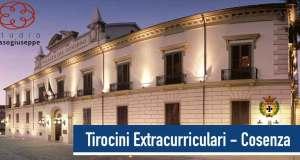 Tirocini Extracurriculari - ri-pubblicazione 09/07/2015 - Provincia di Cosenza - studiorussogiuseppe