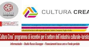 """""""Cultura-Crea""""-programma-di-incentivi-per-il-settore-dell'industria-culturale-turistica-studiorussogiuseppe-finanza-agevolata"""