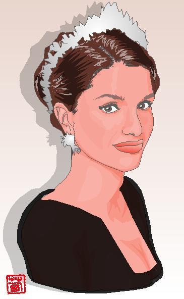 ラニア王妃さんのイラスト