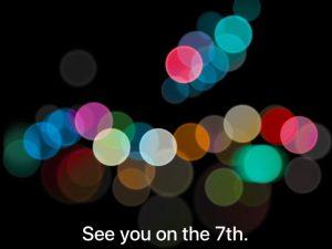 Invitación iPhone 7