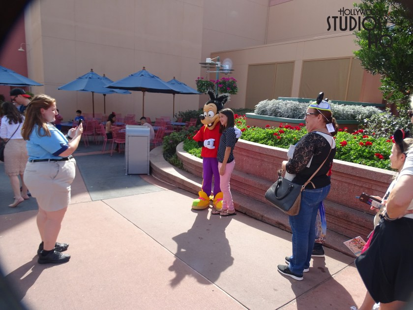 We had two rare character sightings in the park this week! Max, Goofy's son and Stitch were spotted on Commissary Lane. They were meeting guests all afternoon. I will let you know if they returned unless that was just an awesome rare extra magic kind of day for those two!
