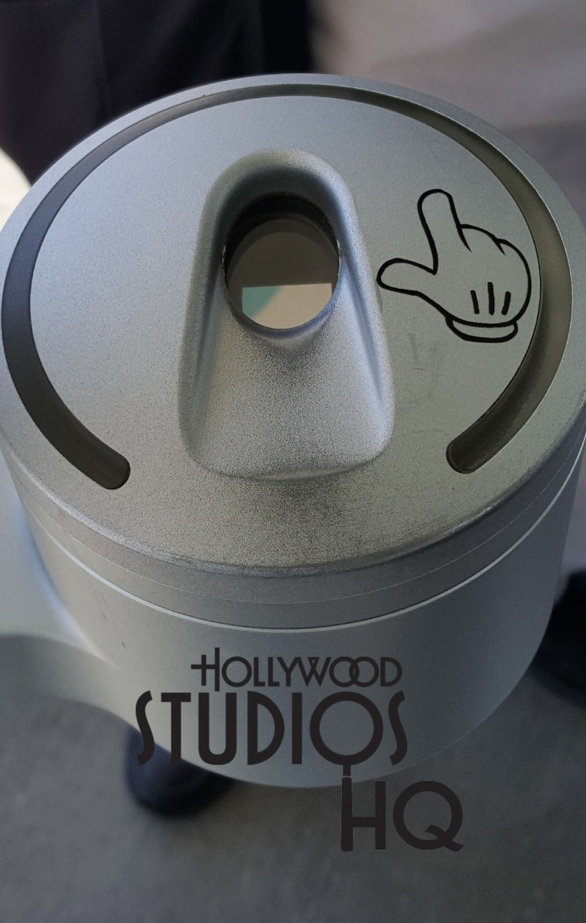A brand new enhancement is Mickey's hand pointing to the location to tap your magicband or ticket card to enter Disney's Hollywood Studios. Photo by John Capos