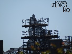 Blast off your weekend with awesome views of the latest construction progress on the mountainscape and building structure enclosures of the Planet Batuu. Large cranes are moving dirt in preparation for one of the signature attractions, Millenium Falcon, that guests will fly beginning in 2019! Enjoy the countless number of photos and video below. Disney's Hollywood Studios. Photo by John Capos