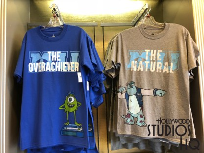 Over at Reel Vogue they have four new Monsters University t-shirts for purchase. One advertises Mike being the overachiever of the bunch and Sully being the natural. Disney's Hollywood Studios. Photo by John Capos
