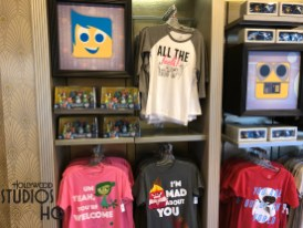 As reported last week, Monsters Inc. T-shirts have arrived for shoppers in Reel Vogue Apparel. Additional Sully, Boo, Mike, and other Pixar character themed merchandise is filling up the sales floor. Monsters Inc. has a large array of hats, mugs, and T-shirts in anticipation of future expansion into the outgoing Sweet Spells store space. Wall-E, Inside Out, and Up also show their presence in the form of merchandise inside Reel Vogue. Accordingly, Toy Story merchandise continues with a dominant presence of sales items in the middle of the store. Disney's Hollywood Studios. Photo by John Capos