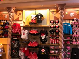 New arrivals of Disney's patriotic apparel and accessories have landed in this Hollywood Studio's flagship store just in time for celebrating the red, white and blue this spring and summer. Shoppers can select from an assortment of adult Mickey Mouse shirts and sweatshirts in addition to kid's clothing and neat backpacks for both boys and girls. Plush character animals await guests on a new wall display that replaces previous Star Wars merchandise. For a complete look at all the keepsakes, apparel, toys, and more at Mickey's of Hollywood, please click below. Disney's Hollywood Studios. Photo by John Capos
