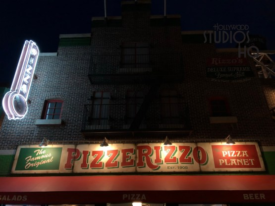 Rizzo The Rat awaits guests for a unique photo opportunity outside his pizza parlor. Diners just step outside the main entrance after enjoying fresh pizza or that meatball sub where a friendly Photo Pass cast member will help create a photo memory with this character positioned on a barrel. While the dining closes at 4pm, Rizzo was observed with his Photo Pass photographer standing by until 7pm. Take advantage of this feature soon. Disney's Hollywood Studios. Photo by John Capos