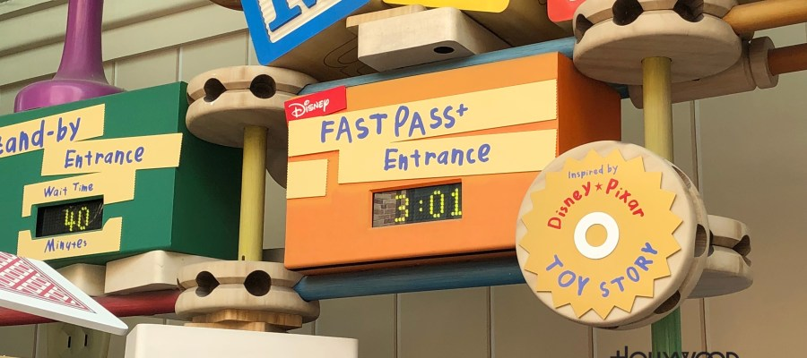 Park guests were treated by Buzz Lightyear to an earlier return of Toy Story Midway Mania fastpass plus. Opening 3 days earlier than the scheduled May 20th date, the que line has been modified as pictured below. Anticipation continues to build with the opening of Toy Story Land on June 30th. Disney's Hollywood Studios. Photo by John Capos