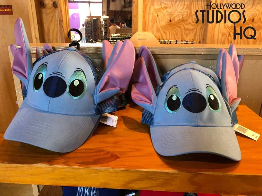 A quick Disney merchandise note for Stitch fans. A themed Stitch cap complete with ears and the mischievous character's face on the front can be found in the Stage One Company Store near the Muppet Vision 3D exit. Disney's Hollywood Studios. Photo by John Capos