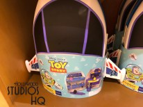Toy Story themed merchandise has arrived at Mickey's Of Hollywood just in time for Toy Story Land's June 30, 2018 grand opening. Children can enjoy one piece pajama apparel featuring either Woody or Buzz Lightyear for bed time fun. Shelves have an array of plush to include guest favorites. Plush offerings include Alien, Lotso The Hugging Bear, Bullseye, as well as a giant Lotso The Hugging Bear for that special child's gift. Adults can also join in the celebration. A women's tee shirt that features Howdy with an image of Jessie surrounded with a lasso heart trim is available. Men's apparel includes tee shirts featuring a Squad Leader toy soldier design as well as a Spud Muffin theme complete with Mr. Potato Head. Zurg, Mr Potato Head, Mrs Potato Head, Rex The Dinosaur, and Buzz Lightyear action figures are ready on shelves to delight family members. A colorful Woody's child's costume along with Buzz Lightyear and Woody role play sets are stocked for young guest enjoyment. Shoppers can add a Toy Story figurine set and even Buzz Lightyear and Alien Mickey's ears to round out their purchases. Disney's Hollywood Studios. Photo by John Capos
