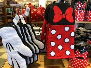 Shoppers can select from an array of household accessories that feature the beloved Minnie Mouse. This character has added her colorful red, white, and black polkadots to this new main merchandise display. Featured on store shelves are teapots, plates, as well as new water bottles. Disney's Hollywood Studios. Photo by John CaposShoppers can select from an array of household accessories that feature the beloved Minnie Mouse. This character has added her colorful red, white, and black polkadots to this new main merchandise display. Featured on store shelves are teapots, plates, as well as new water bottles. Disney's Hollywood Studios. Photo by John Capos