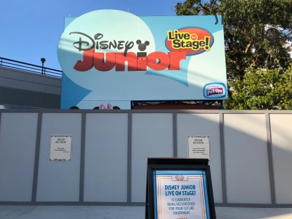 Later on December 22, 2018, guests will enjoy the debut of the new Disney Junior Dance Party located in the Animation Courtyard. Disney's Hollywood Studios. Photo by John Capos