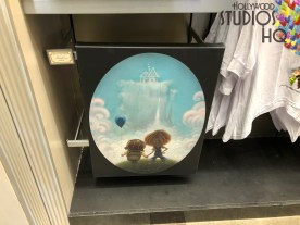Shoppers can now select from a variety of new fine art paintings and prints featuring favor characters from Pixar films. Selections include full and post card size art. Hollywood Studios HQ provides the latest merchandise news. Disney's Hollywood Studios. Photo by John Capos