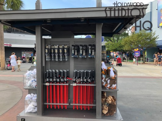 The outdoor merchandise stand has returned to the Animation Courtyard offering shoppers Star Wars merchandise. Disney's Hollywood Studios. Photo by John Capos