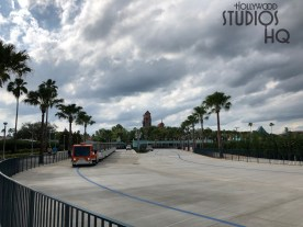 Guests can now enjoy the brand new entrance area. Tram loading and unloading as well as security screening are all in new expansive landscaped areas. The original restrooms located near the former tram roadway have reopened for guest convenience. Stay tuned to Hollywood Studios HQ for all Park news. Disney's Hollywood Studios. Photo by John Capos