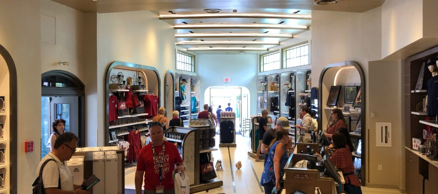 Guests can once again shop in the Keystone Clothiers on Hollywood Blvd. Now open after a lengthy refurbishment, shoppers can select from an assortment of Star Wars: Galaxy Edge themed merchandise that is certain to please everyone. Stay connected to Hollywood Studios HQ as the best source for all current Park news. Disney's Hollywood Studios. Photo by John Capos