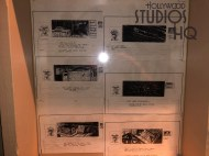 Often unnoticed by diners entering a narrow hallway leading to the Sci Fi Dine In seating area is the story board of the original Star Tours attraction. Multiple sketches in glass showcases contain the first images experienced by guest riders back in 1989. Stay connected to Hollywood Studios HQ for more unique stories throughout 2020. Disney's Hollywood Studios. Photo by John Capos
