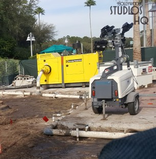 Crews are renovating a section of the guest walkway near the main entrance ticket windows. Stay with Hollywood Studios HQ for all Park construction news. Disney's Hollywood Studios. Photo by John Capos