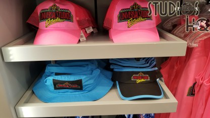 A unique selection of apparel and accessories commemorating Universal Studios 30th anniversary awaits shoppers. Merchandise themed with the original logo as well as opening day attractions are on store shelves in both Parks and City Walk. A commemorative adult sweat shirt and tee shirt, along with coordinating caps and visors are offered. Shoppers can also select from colorfully themed car coasters, bumper stickers, license plates, pennants, as well as cooling cloths. Stay connected here at Hollywood Studios HQ for all the latest 30th anniversary news. Photo by John Capos